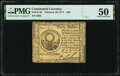 Colonial Notes:Continental Congress Issues, Continental Currency February 26, 1777 $30 PMG About Uncirculated 50.. ...