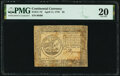 Colonial Notes:Continental Congress Issues, Continental Currency April 11, 1778 $5 PMG Very Fine 20.. ...
