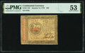 Colonial Notes:Continental Congress Issues, Continental Currency January 14, 1779 $35 PMG About Uncirculated 53.. ...