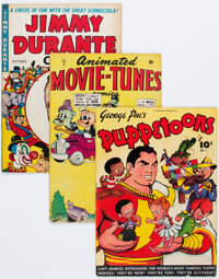 Golden Age Humor Comics First Issues Group of 17 (Various Publishers, 1940s-50s) Condition: Average VG.... (Total: 17 Co...