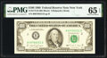 Fr. 2173-B $100 1990 Federal Reserve Note. PMG Gem Uncirculated 65 EPQ