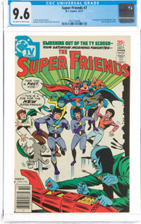Super Friends #7 (DC, 1977) CGC NM+ 9.6 Off-white to white pages