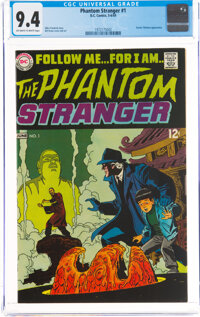 The Phantom Stranger #1 (DC, 1969) CGC NM 9.4 Off-white to white pages