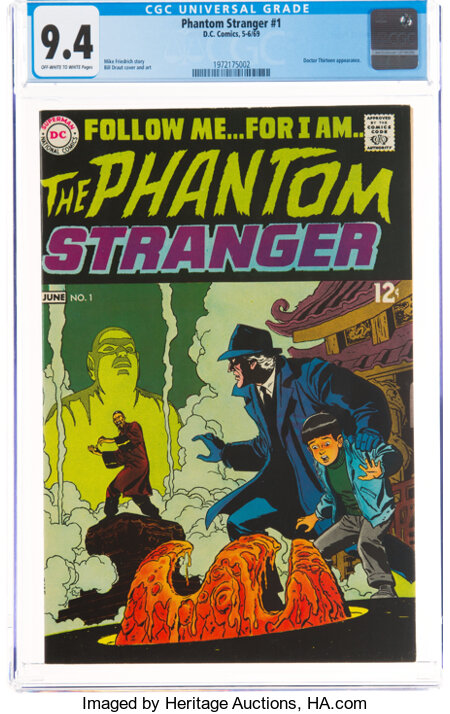 The Phantom Stranger #1 (DC, 1969) CGC NM 9.4 Off-white to white pages....