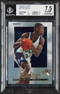 Basketball Cards:Unopened Packs/Display Boxes, 1996 Skybox E-X2000 Credentials Ray Allen #37 BGS NM+ 7.5 - Serial Numbered 311/499. ...