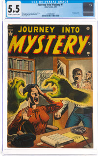 Journey Into Mystery #1 (Marvel, 1952) CGC FN- 5.5 Cream to off-white pages