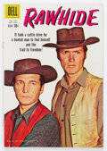 Silver Age (1956-1969):Western, Four Color #1028 Rawhide (Dell, 1959) Condition: FN....
