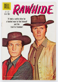 Four Color #1028 Rawhide (Dell, 1959) Condition: FN