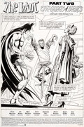 """Original Comic Art:Story Page, Jim Aparo and Mike DeCarlo Detective Comics #639 Complete 22-Page Story """"The Idiot, Part Two: The Queen of Hearts""""..."""
