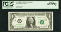 Fr. 1906-L* $1 1969C Federal Reserve Star Note. PCGS Gem New 65PPQ