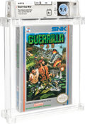 Video Games:Nintendo, Guerrilla War - Wata 9.4 A+ Sealed [Oval SOQ TM] (The Indiana Collection), NES SNK 1989 USA....