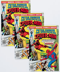 Spectacular Spider-Man #1 Group of 20 (Marvel, 1976) Condition: Average VF.... (Total: 20 Comic Books)