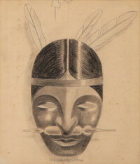 Victor Vasarely (1906-1997) Advertising Project for Bio Choline, 1936 Pencil on wove paper 6-1/2