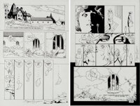 P. Craig Russell Batman: Legends of the Dark Knight #43 Story Page 24-25 Original Art (DC, 1993)