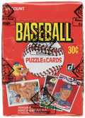 Baseball Cards:Unopened Packs/Display Boxes, 1984 Donruss Baseball Wax Box With 36 Unopened Packs - Don Mattingly Rookie Year! ...