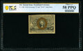 Fractional Currency:Second Issue, Fr. 1286 25¢ Second Issue Slate Back PCGS Banknote Choice...