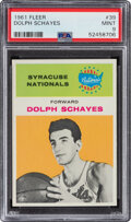 Basketball Cards:Singles (Pre-1970), 1961 Fleer Dolph Schayes #39 PSA Mint 9....