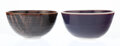 Ceramics & Porcelain, Brother Thomas Bezanson (American/Canadian, 1929-2007). Two Bowls. Porcelain. 3-7/8 x 7-7/8 inches (...