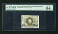Fractional Currency:Second Issue, Fr. 1284 25c Second Issue PMG Choice Uncirculated 64. A very well margined example for the grade of this sleeper variety tha...