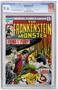 Bronze Age (1970-1979):Horror, Frankenstein #7 (Marvel, 1973) CGC NM+ 9.6 White pages....