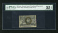 Fractional Currency:Second Issue, Fr. 1318 50c Second Issue PMG About Uncirculated 55EPQ. A stunning example for the grade that has great color, bold surcharg...