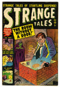 Golden Age (1938-1955):Horror, Strange Tales #5 (Marvel, 1952) Condition: VG....