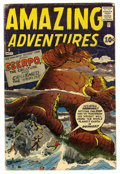 Silver Age (1956-1969):Superhero, Amazing Adventures #6 (Marvel, 1961) Condition: GD/VG....