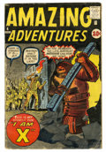 Silver Age (1956-1969):Horror, Amazing Adventures #4 (Marvel, 1961) Condition: GD....