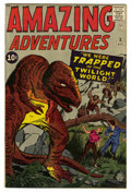 Silver Age (1956-1969):Horror, Amazing Adventures #3 (Marvel, 1961) Condition: FN....