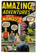 Silver Age (1956-1969):Horror, Amazing Adventures #2 (Marvel, 1961) Condition: VG-....