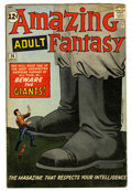 Silver Age (1956-1969):Mystery, Amazing Adult Fantasy #14 (Marvel, 1962) Condition: VG+....