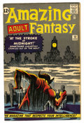 Silver Age (1956-1969):Mystery, Amazing Adult Fantasy #13 (Marvel, 1962) Condition: VG/FN....