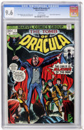 Bronze Age (1970-1979):Horror, Tomb of Dracula #7 (Marvel, 1973) CGC NM+ 9.6 White pages....