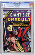 Bronze Age (1970-1979):Horror, Giant-Size Dracula #3 (Marvel, 1974) CGC NM+ 9.6 Off-white to whitepages....