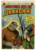 Golden Age (1938-1955):Horror, Adventures Into The Unknown #36 Mile High pedigree (ACG, 1952)Condition: FN-....