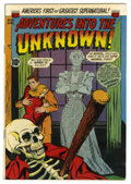 Golden Age (1938-1955):Horror, Adventures Into The Unknown #42 (ACG, 1953) Condition: FN....