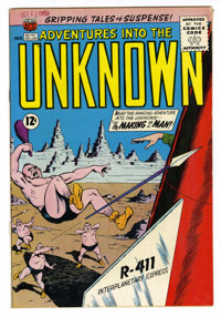 Adventures Into The Unknown #145 Bethlehem pedigree (ACG, 1964) Condition: VF-