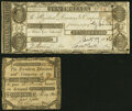 Obsoletes By State:New Hampshire, Amherst, NH- Hillsborough Bank $10 Oct. 17, 1806 Fine-Very Fine;. Concord, NH- Concord Bank 50¢ May 1808 Very Good... (Total: 2 notes)