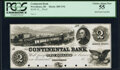 Obsoletes By State:Rhode Island, Providence, RI- Continental Bank $2 18__ Haxby Unlisted Proof PCGS Choice About New 55, POCs.. ...