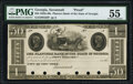 Obsoletes By State:Georgia, Savannah, GA- Planters Bank of the State of Georgia (Payable in New York) $50 18__ G82 Proof PMG About Uncirculated 55, ...