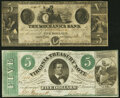 Obsoletes By State:Mixed States, Augusta, GA- Mechanics Bank $5 Dec. 1, 1855 Fine-Very Fine;. Richmond, VA- Commonwealth of Virginia $5 Mar. 3, 1862 ... (Total: 2 notes)