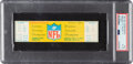 "Football Collectibles:Tickets, 1967 NFL Championship Game Full Ticket, PSA EX-MT 6 - The ""Ice Bowl""! ..."