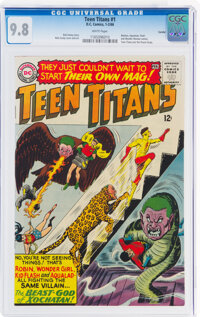 Teen Titans #1 Curator Copy Pedigree (DC, 1966) CGC NM/MT 9.8 White pages