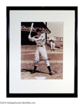 Autographs:Photos, Baseball Autograph Joe DiMaggio Signed and Framed 11x14 ...