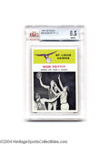Basketball Cards:Singles (Pre-1970), Basketball 1961 FLEER BOB PETTIT IA #59 NM/MT+ Beckett 8.5.