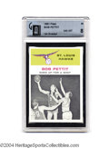 Basketball Cards:Singles (Pre-1970), Basketball 1961 FLEER BOB PETTIT IA #59 NM/MT GAI 8. St. ...