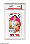 Basketball Cards:Singles (Pre-1970), Basketball 1969 TOPPS BILL BRADLEY #43 NM/MT PSA 8 (OC). ...