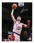 Basketball Collectibles:Photos, Basketball Autograph Yao Ming Signed 16x20 Photo ...