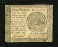 Colonial Notes:Continental Congress Issues, Continental Currency September 26, 1778 $60 Very Fine....