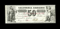 Obsoletes By State:Indiana, Washington, IN- California Exchange 50¢ May 1, 1862 Wolka UNL. ...